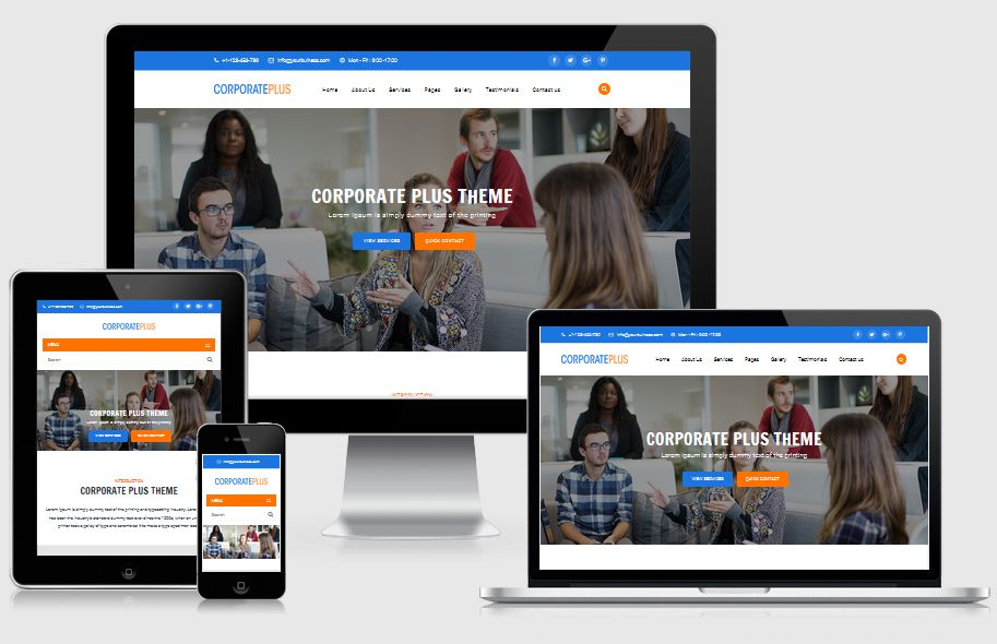 Corporate Plus | Multipurpose Business HTML Template
