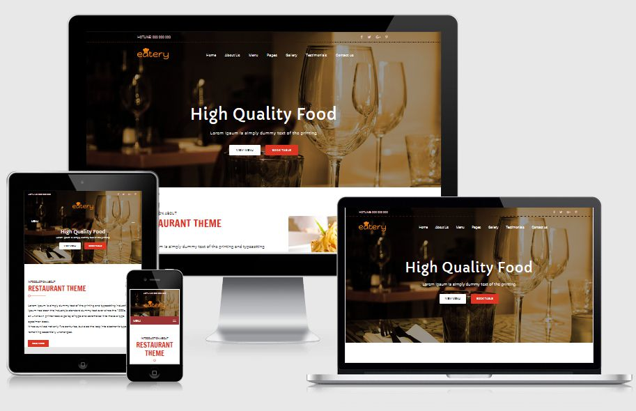Eatery | Fast Food & Restaurant HTML template